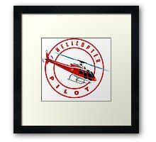 Astar Helicopter pilot Framed Print