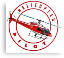 Astar Helicopter pilot Metal Print