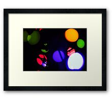 Last Lights No. 7 Framed Print