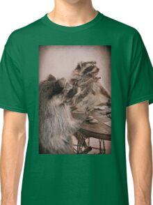 Two raccoons playing poker Classic T-Shirt