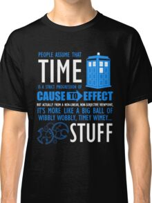 Doctor Who Time Quotes Classic T-Shirt