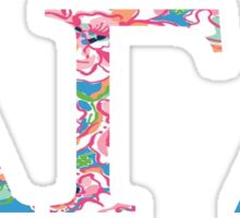 Alpha Gamma Delta - Preppy Sticker
