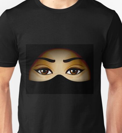 Arabic Eyes Unisex T-Shirt