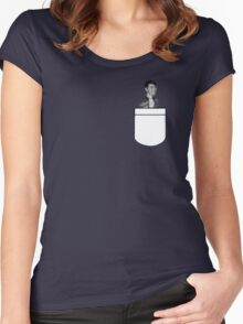 Dan in your pocket  Women's Fitted Scoop T-Shirt