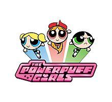 Powerpuff Girls Photographic Print