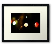 Last Lights No. 9 Framed Print