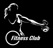 Fitness or Training Emblem  by devaleta