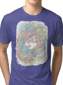 A Vision in Steam Tri-blend T-Shirt