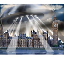 UFO Over London Photographic Print