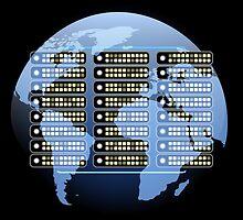 IT company Emblem by devaleta
