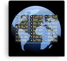 IT company Emblem Canvas Print