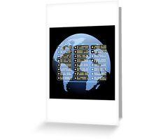 IT company Emblem Greeting Card