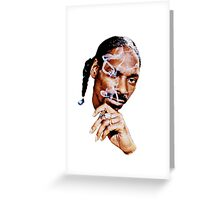 Snoop Dogg Greeting Card