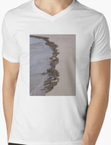 The Crumbling Sand Mens V-Neck T-Shirt