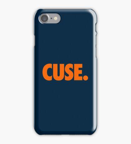 CUSE - ORANGE iPhone Case/Skin