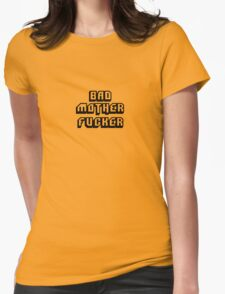 Bad Motherfucker Leather - Pulp Fiction Womens Fitted T-Shirt