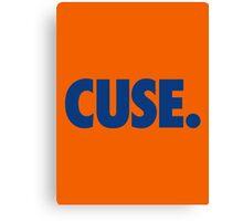 CUSE - BLUE Canvas Print