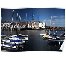 Just Resting ~ TS Pelican of London Poster