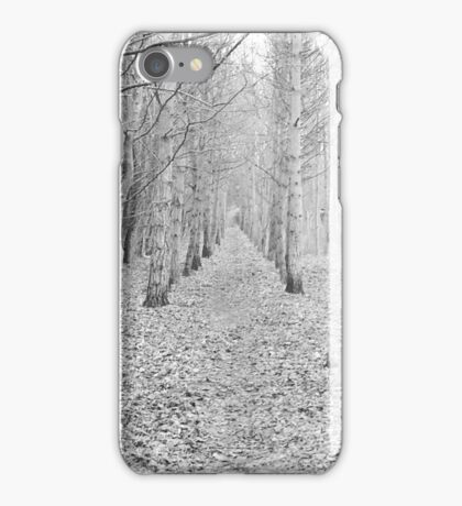 White Forest iPhone Case/Skin