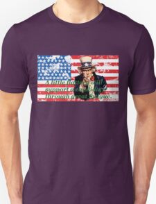 Vote 2016 - A little flattery will support a candidate through great fatigue. Unisex T-Shirt