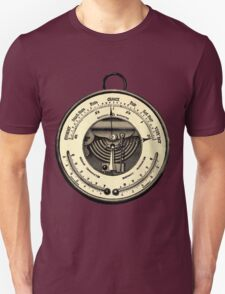 Barometer Vintage Tool Dictionary Art T-Shirt