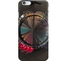 Planet Glasgow at Night iPhone Case/Skin