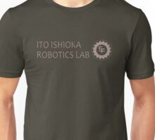 Ito Itshioka Robotics Lab San Fransokyo institute of technology black outline, colour fill Unisex T-Shirt