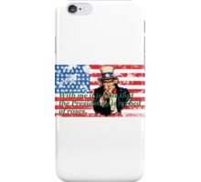 Vote 2016 - With me it is true that the Presidency is no bed of roses. iPhone Case/Skin