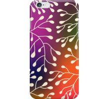Abstract Floral background. iPhone Case/Skin