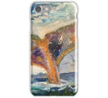 Whale Tail Colorful iPhone Case/Skin