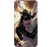catwoman climbing iPhone Case/Skin