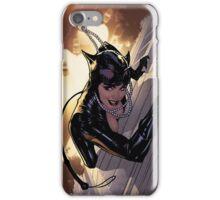 catwoman climbing iPhone Case/Skin