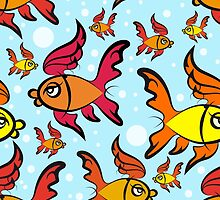 fishes pattern by devaleta