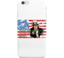 Vote 2016 - Never advocated war except as a means of peace. iPhone Case/Skin