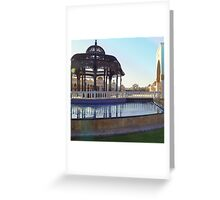 Egypt sun, breath in and relax Greeting Card