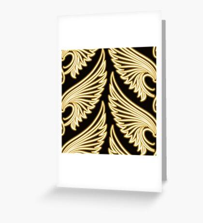 Wing Pattern Greeting Card