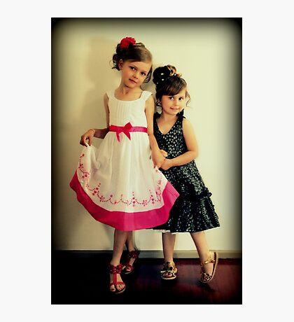 Portrait -  Sisters Photographic Print