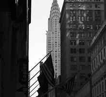 Chrysler Building by Samantha Jones