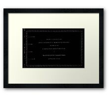 Civil War Maps 1104 Maps illustrating Gen'l Sherman's ''March to the sea'' and through the Carolinas and Virginia 06 Framed Print