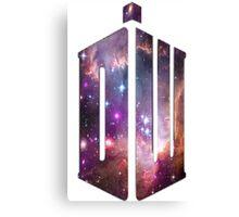 Doctor Who Nebula Canvas Print
