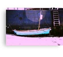 When the boat comes in... Canvas Print
