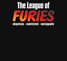 The League of Furies (white) Womens Fitted T-Shirt