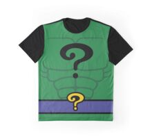 The Riddler - LEGO DC Heroes Costume Graphic T-Shirt