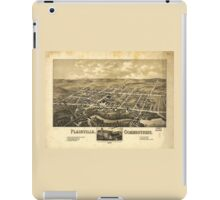 Perspective Map of Plainville Connecticut (1878) iPad Case/Skin