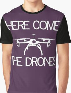 Drones Graphic T-Shirt