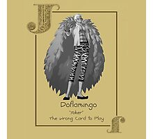 Joker - Doflamingo Photographic Print