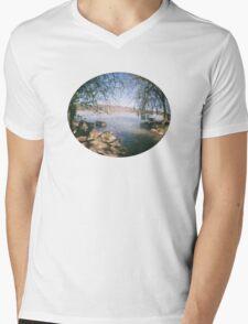 river shot with a Fisheye camera T-Shirt