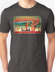 JACKSONVILLE FISHIN ASH VS EVIL DEAD T-Shirt