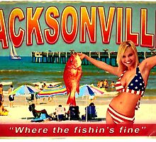 JACKSONVILLE FISHIN ASH VS EVIL DEAD by PrettyStuff