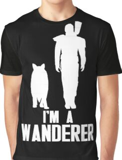 I'm A Wanderer (White) Graphic T-Shirt